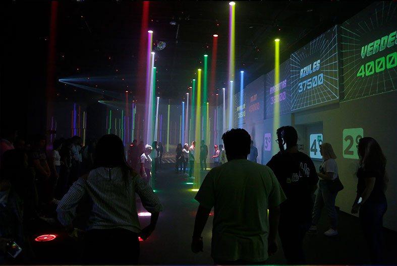 Show de color y Música