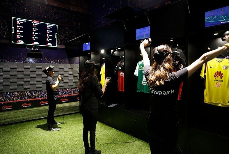 VR Soccer Room