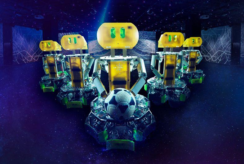 Futbol robots